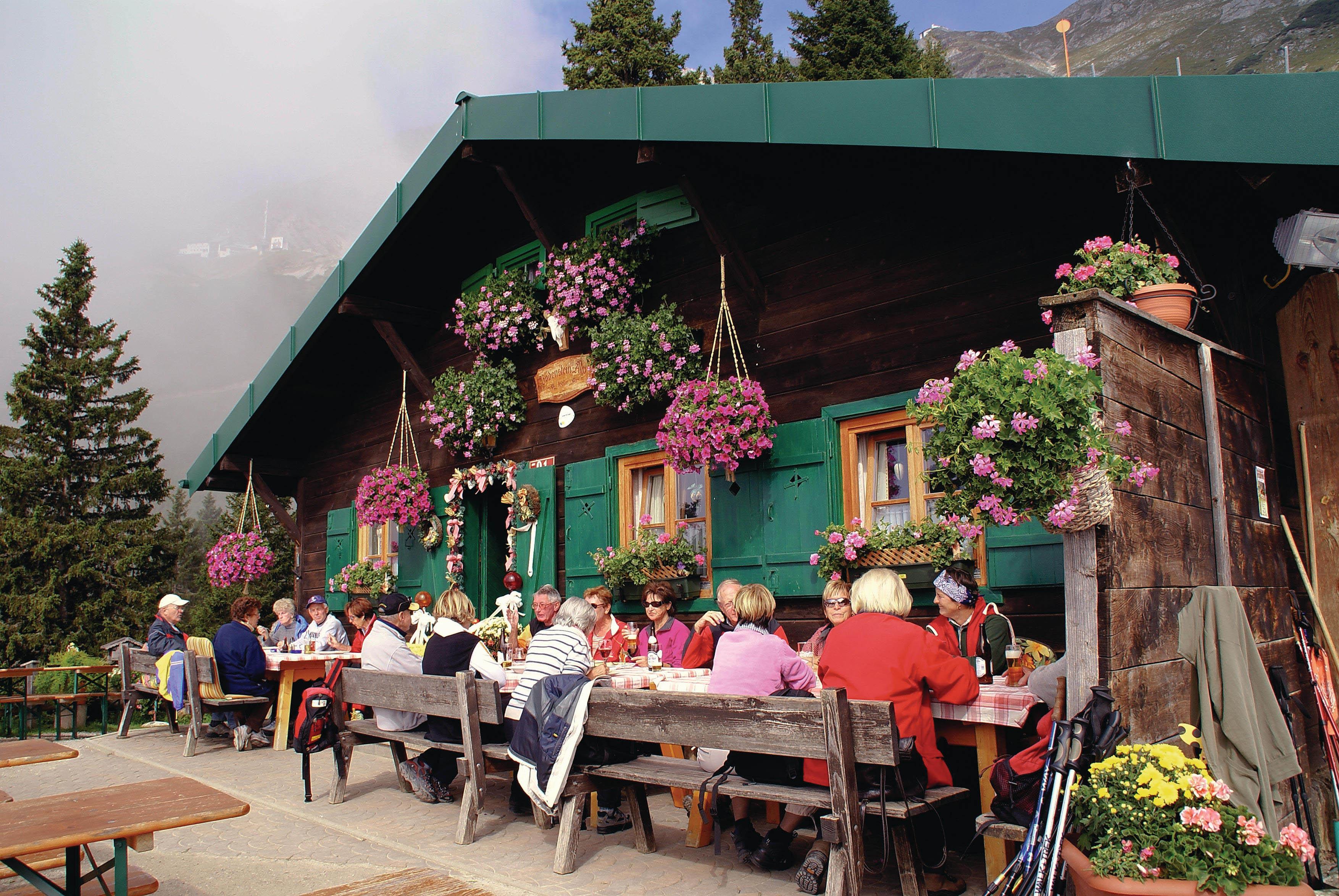 BODENSTEINALM © Innsbruck Tourismus  Hilde Nairz