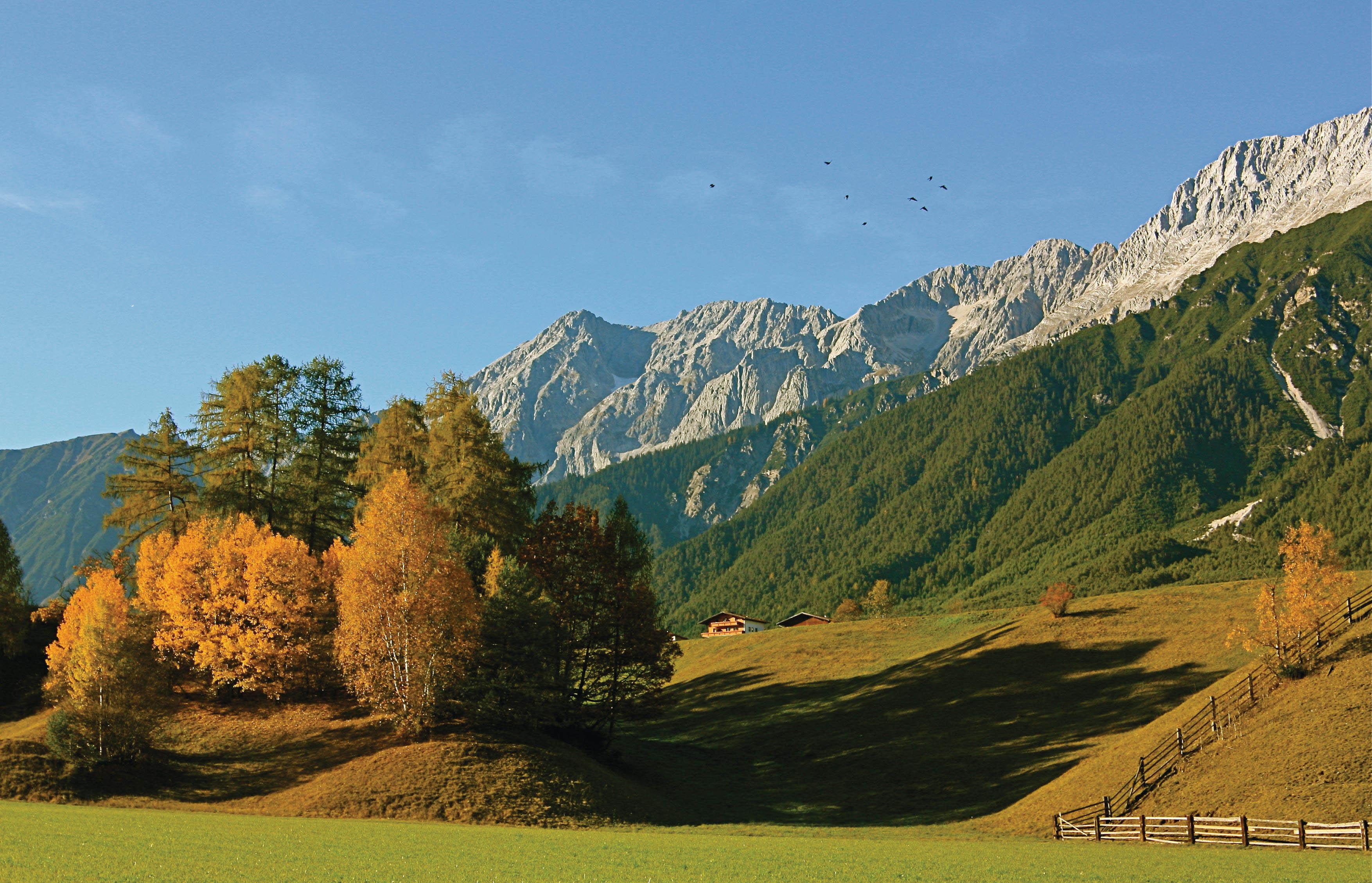 HERBST MIEMINGER PLATEAU © Innsbruck Tourismus  Helmut Wagner